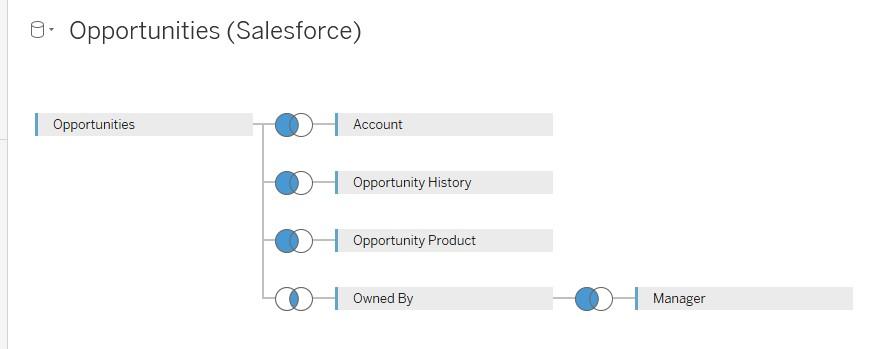 Opportunities(salesforce) Database