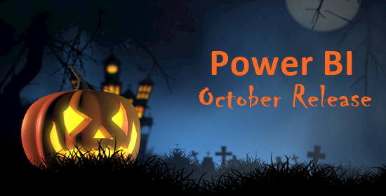 Best of the october Power BI release cover